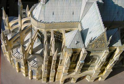 Reims  Model, The Choir