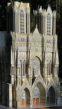 Reims Cathedral Model, West Front