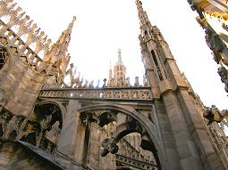 Milan Duomo flying buttresses