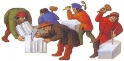 Medieval stonecutters